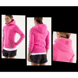 Lululemon Scuba Hoodie Jacket Size 12